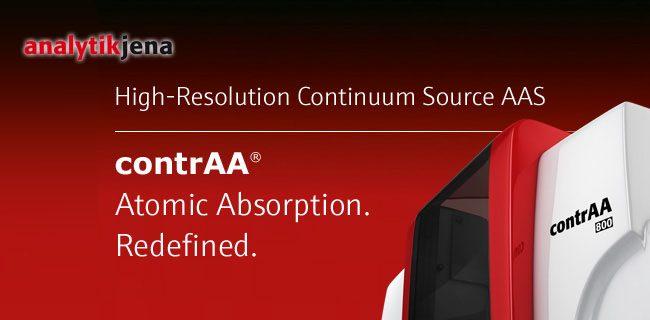 ContrAA Analytik Jena Atomic Absorption