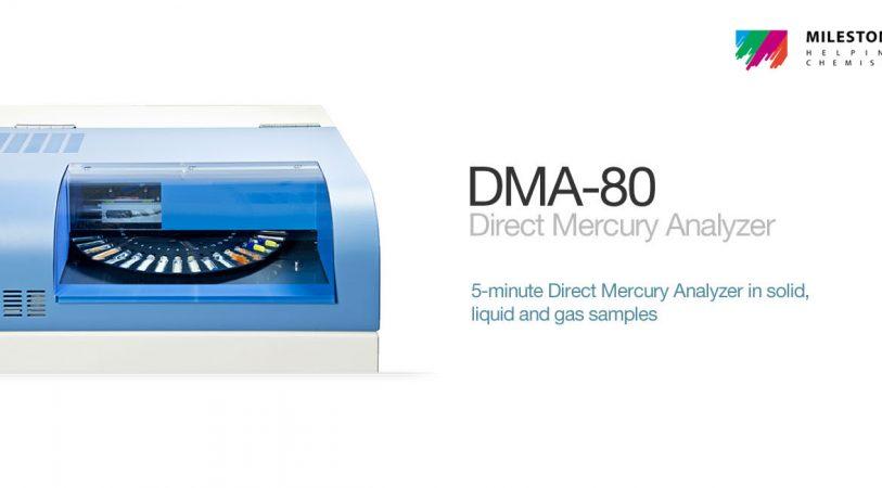 DMA 80 Milestone Direct Mercury Analyzer