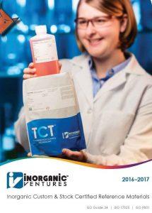 Inorganic Ventures πρότυπα AA ICPOES ICPMS